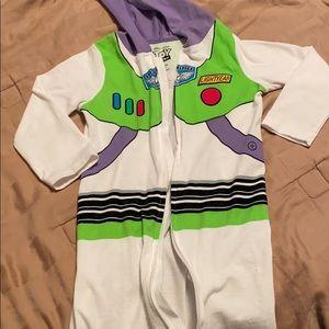 Buzz Lightyear pajamas
